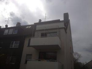 Balkon oben geschlossen
