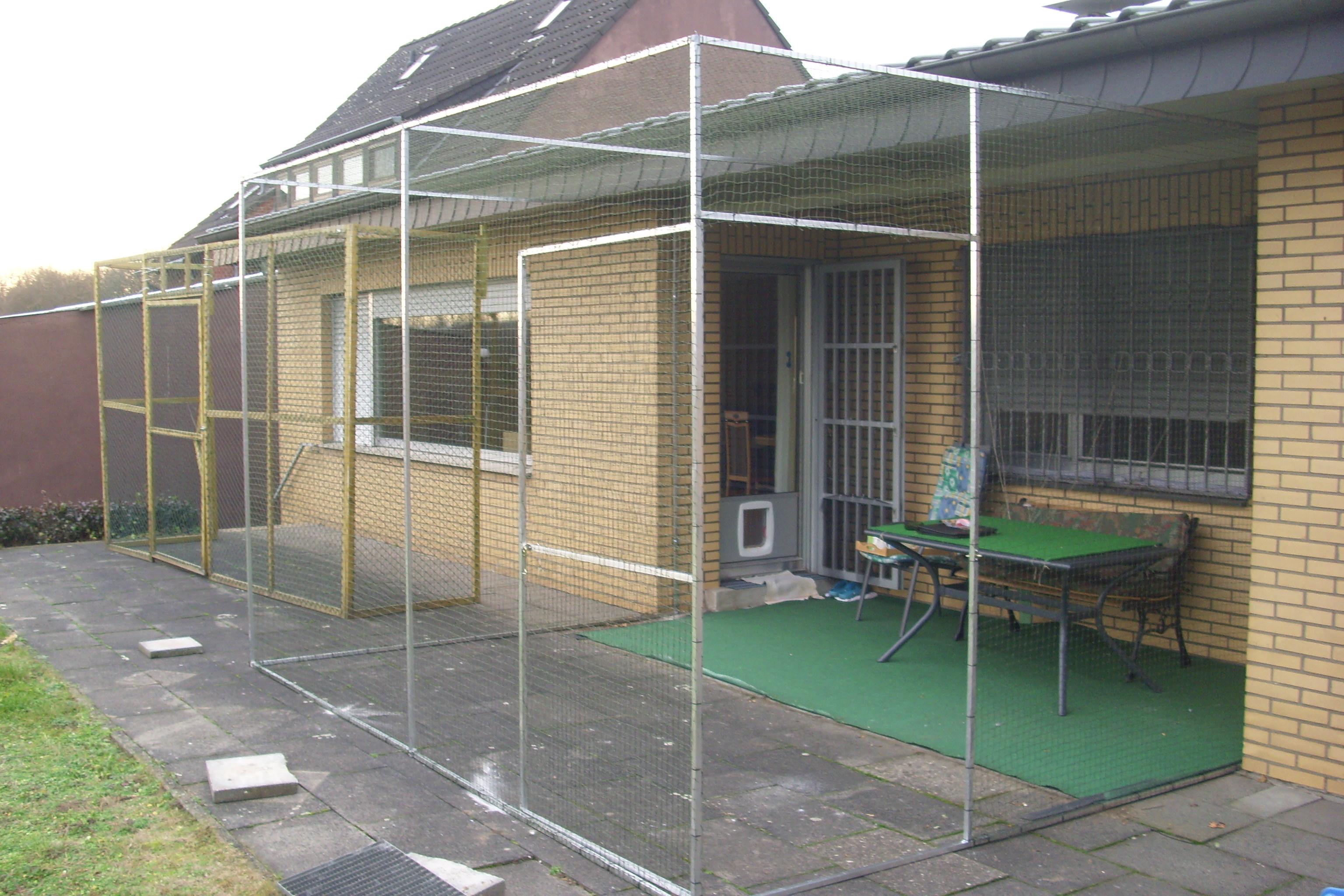 terrassenvernetzung mit t r der katzennetz profi. Black Bedroom Furniture Sets. Home Design Ideas