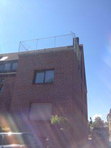Dachterrasse als Katzenoase