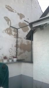 Durchgang für Dachdecker usw. im Katzennetz-System