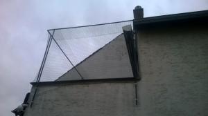 Dachterrasse bei Tierfreunden vernetzt
