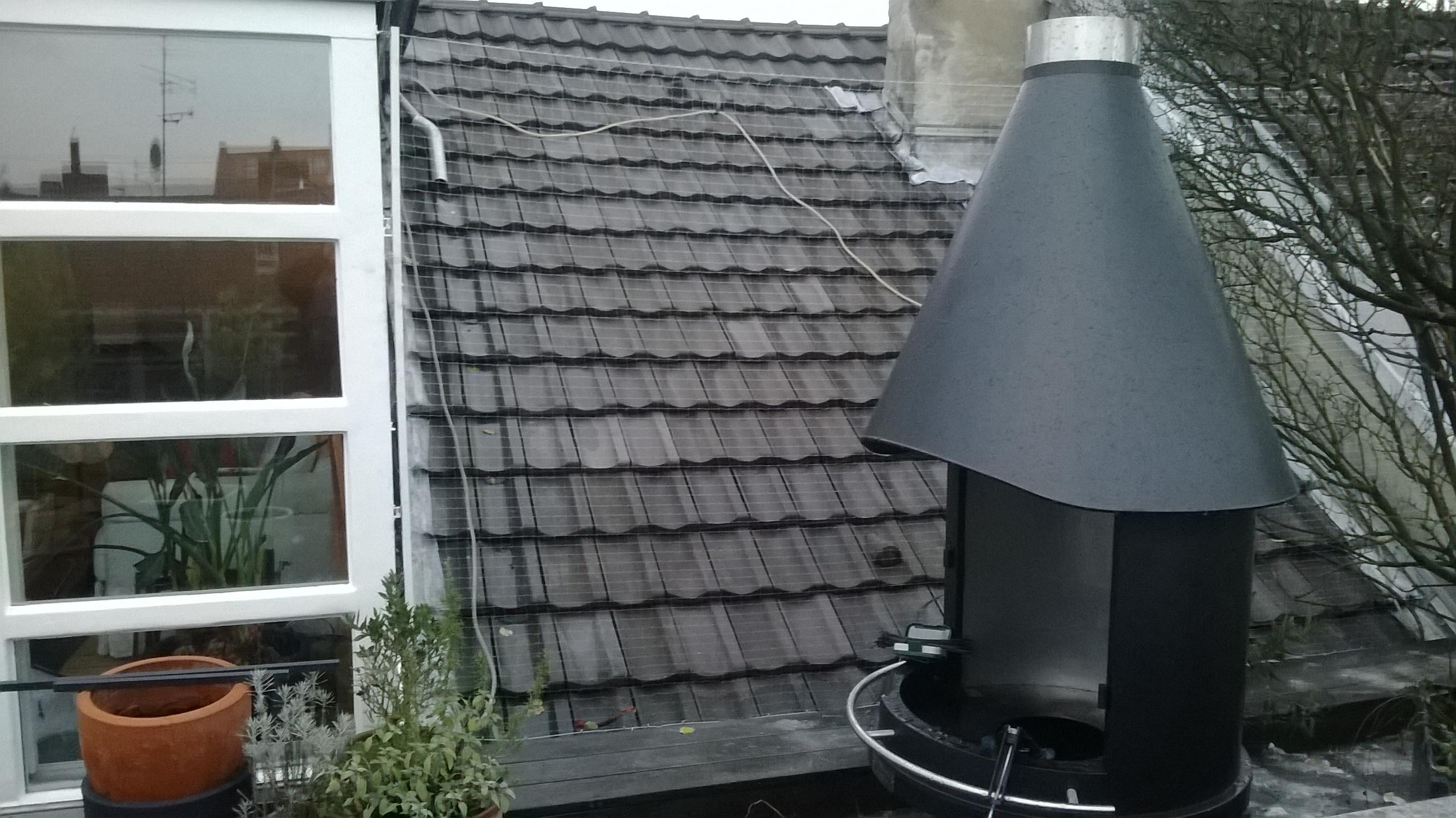 Terrassenvernetzung Mit Tur Der Katzennetz Profi